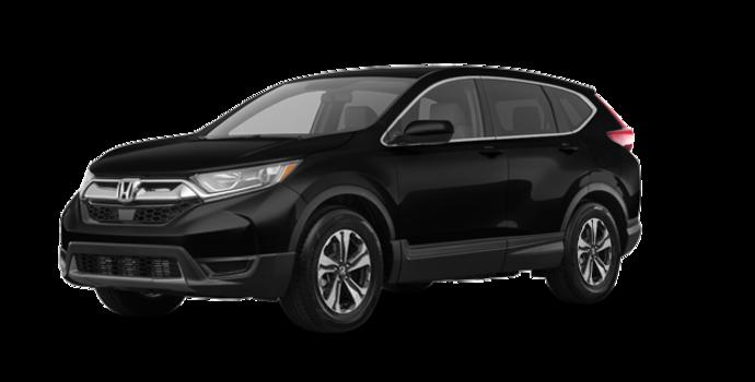2018 Honda CR-V LX-2WD   Photo 6   Crystal Black Pearl