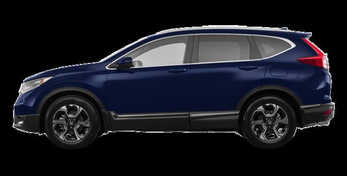 2018 Honda CR-V TOURING   Photo 4   Obsidian Blue Pearl