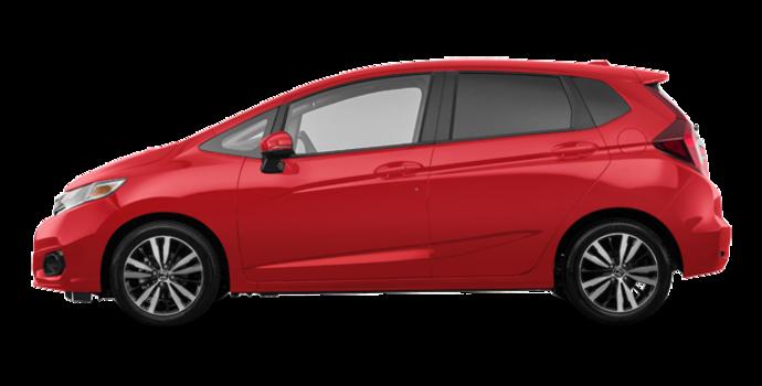 2018 Honda Fit EX-L NAVI | Photo 4 | Milano red