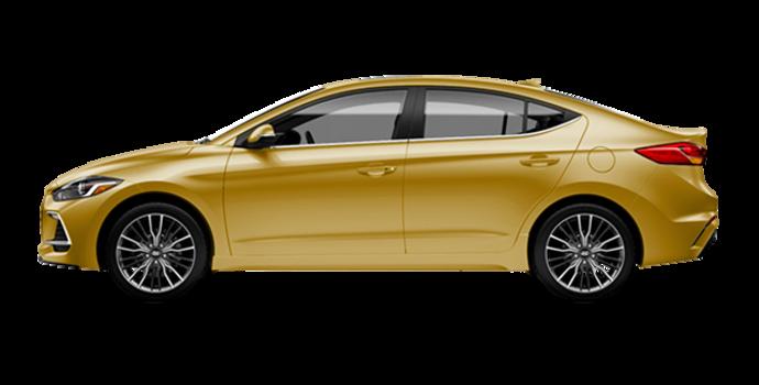2018 Hyundai Elantra Sport TECH | Photo 4 | Blazing Yellow