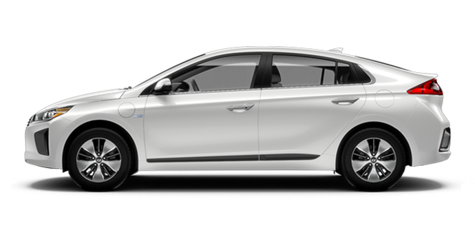 2018 Hyundai Ioniq Electric Plus LIMITED | Photo 4 | Polar White