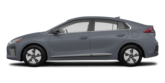 2018 Hyundai Ioniq Hybrid BLUE   Photo 4   Iron Grey