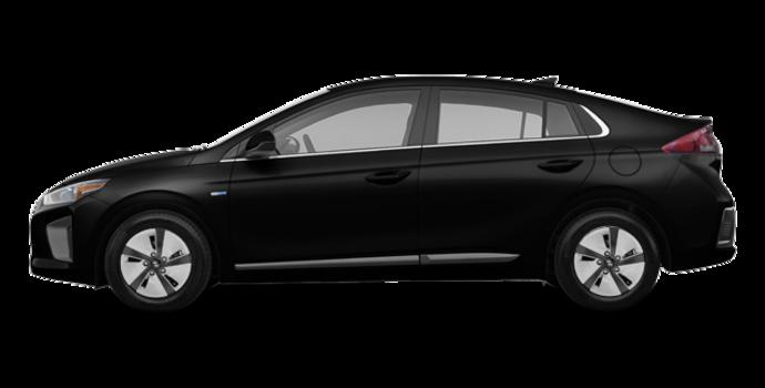 2018 Hyundai Ioniq Hybrid BLUE   Photo 4   Phantom Black