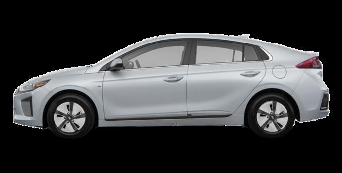 2018 Hyundai Ioniq Hybrid BLUE   Photo 4   Platinum Silver