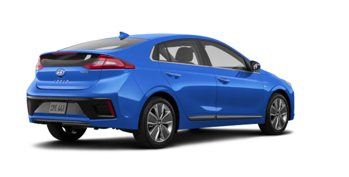 2018 Hyundai Ioniq Hybrid LIMITED/TECH | Photo 5 | Marina Blue