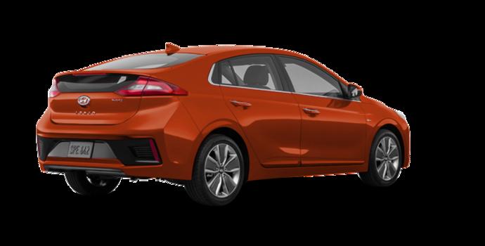 2018 Hyundai Ioniq Hybrid LIMITED/TECH | Photo 5 | Phoenix Orange