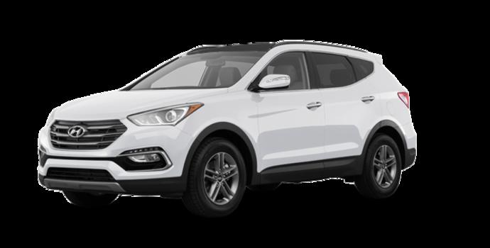 2018 Hyundai Santa Fe Sport 2.0T SE   Photo 6   Frost White Pearl
