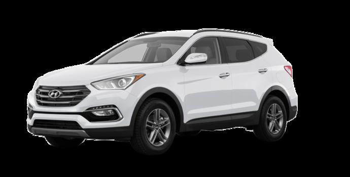 2018 Hyundai Santa Fe Sport 2.4 L PREMIUM | Photo 6 | Frost White Pearl