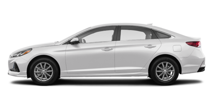 2018 Hyundai Sonata GL | Photo 4 | Ice White