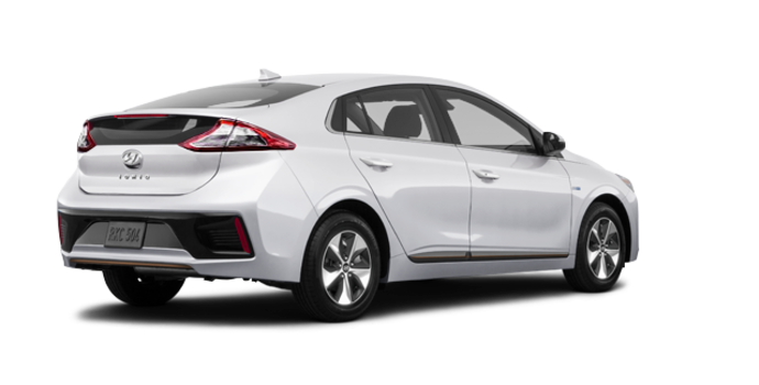 2018 Hyundai IONIQ electric LIMITED | Photo 5 | Polar White