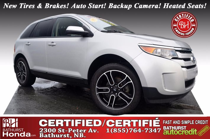 Ford Edge Sel Awd Certified New Tires Brakes Auto Start Backup