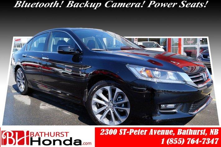 2014 Honda Accord Sedan Sport! CVT Transmission! Power Seat! Bluetooth!
