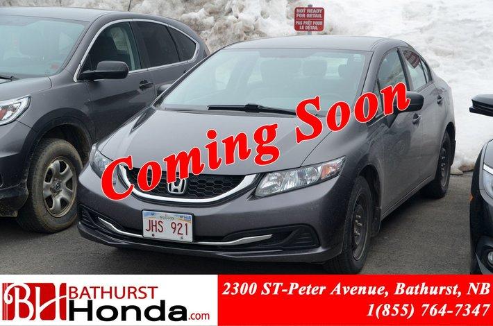 2014 Honda Civic Sedan DX LOW PRICE! 5 Speed Manual! Power Windows!