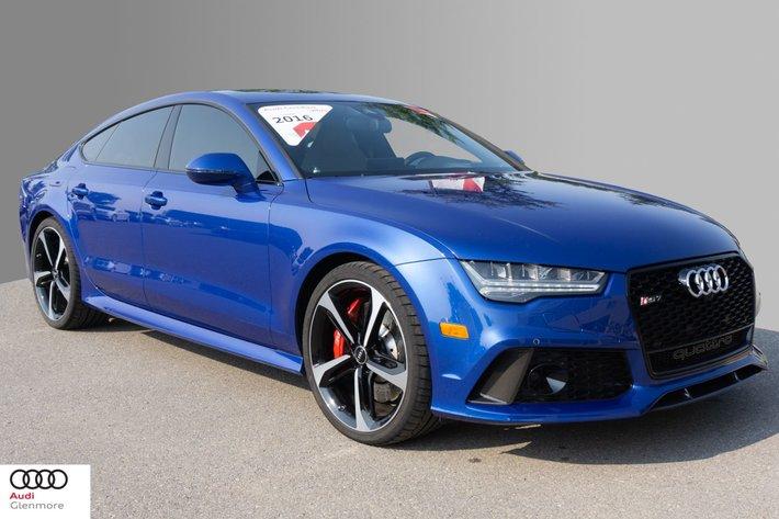 2016 Audi Rs 7 40t Quattro 8sp Tiptronic Performance Intensified