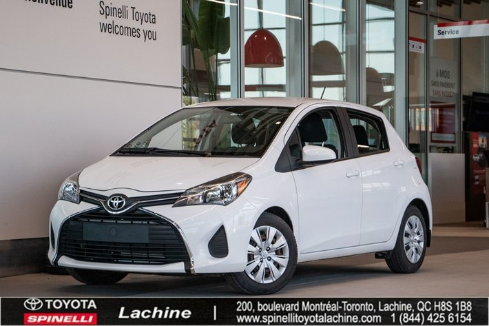 2015 Toyota Yaris LE IMPECCABLE! BLUETOOTH! AIR CONDITIONED! ONE OWNER! LOW MILEAGE! SUPER PRICE! HURRY!