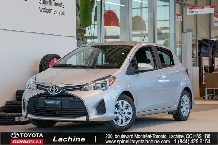 2017 Toyota Yaris LE IMPECCABLE! AIR CONDITIONED! BLUETOOTH! LOW MILEAGE! SUPER PRICE! HURRY!