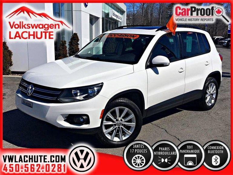 2012 Volkswagen Tiguan COMFORTLINE+WOW!!UN 2013 AU PRIX D'UN 2012!!+