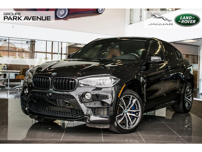 BMW X6 M 567 HP CUIR MERINO(R)J.Z 2016