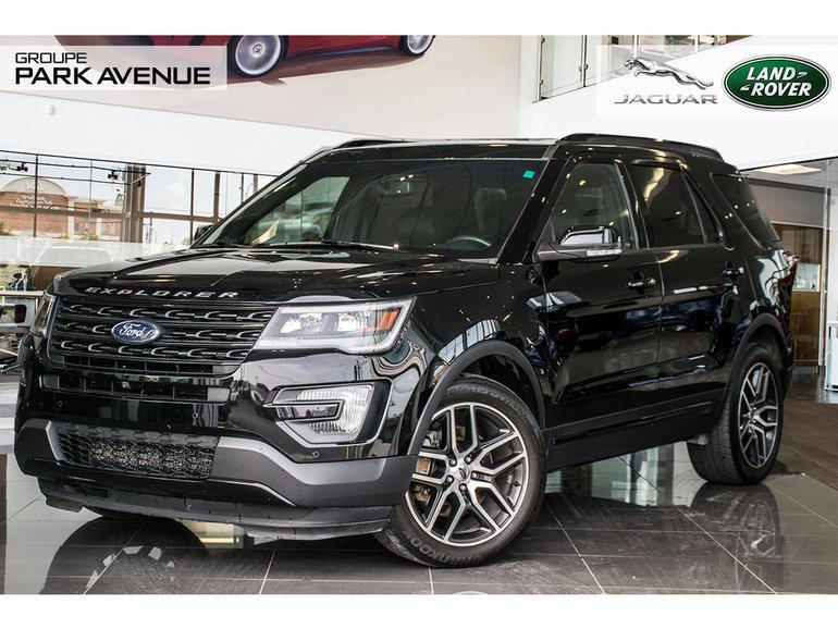 2016 Ford Explorer Sport Navigation + Toit Pano !