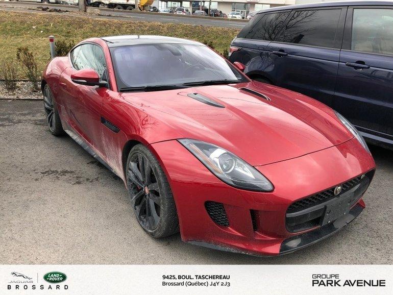 2017 Jaguar F-Type S   MANUELLE