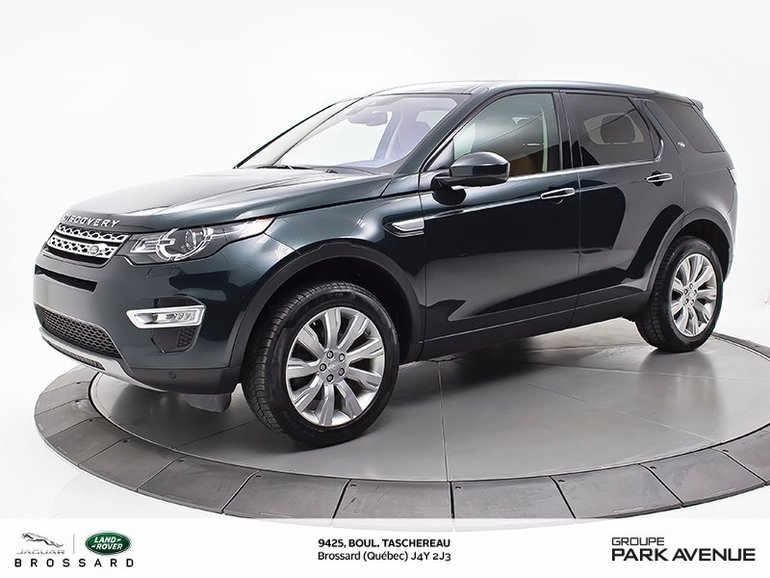 2016 Land Rover DISCOVERY SPORT HSE LUXURY   LANE ASSIST