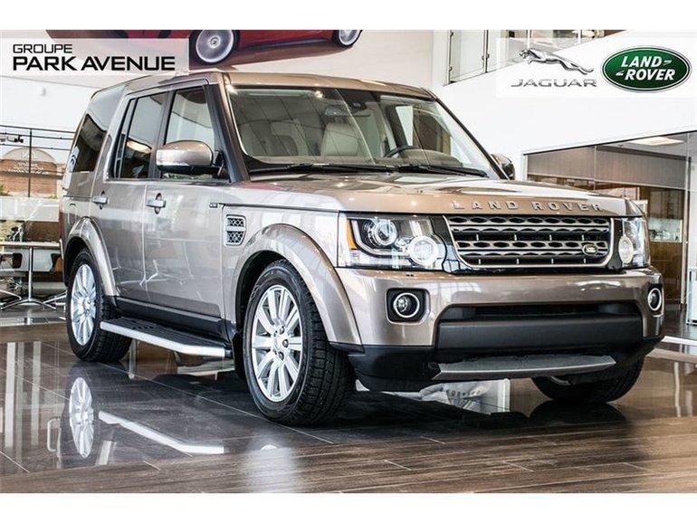2015 Land Rover LR4 *Nouvel Arrivage*