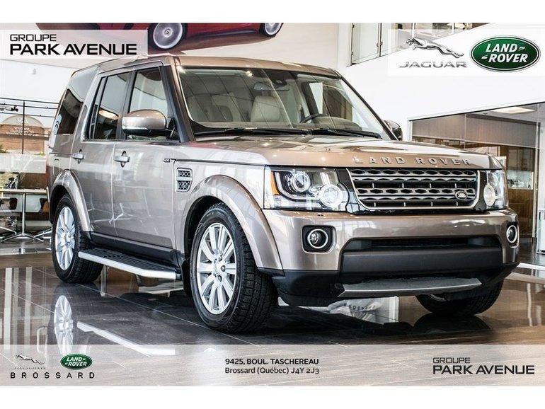 Land Rover LR4 *Certifié* (R) J.Z 2015
