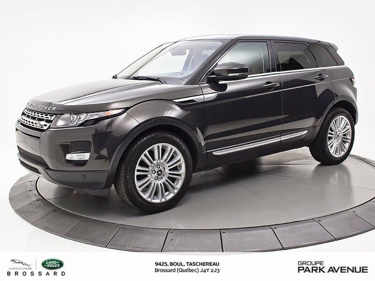2013 Land Rover Range Rover Evoque PRESTIGE   NAV + CUIR BRUN