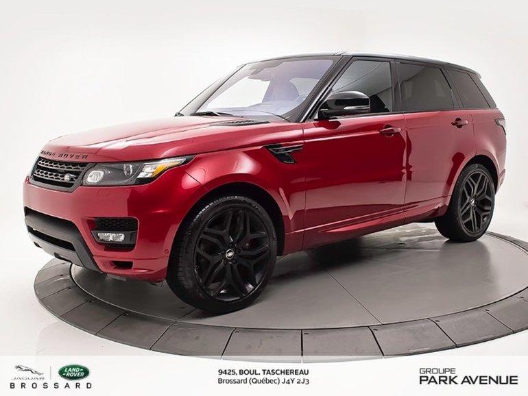 2016 Land Rover Range Rover Sport HST
