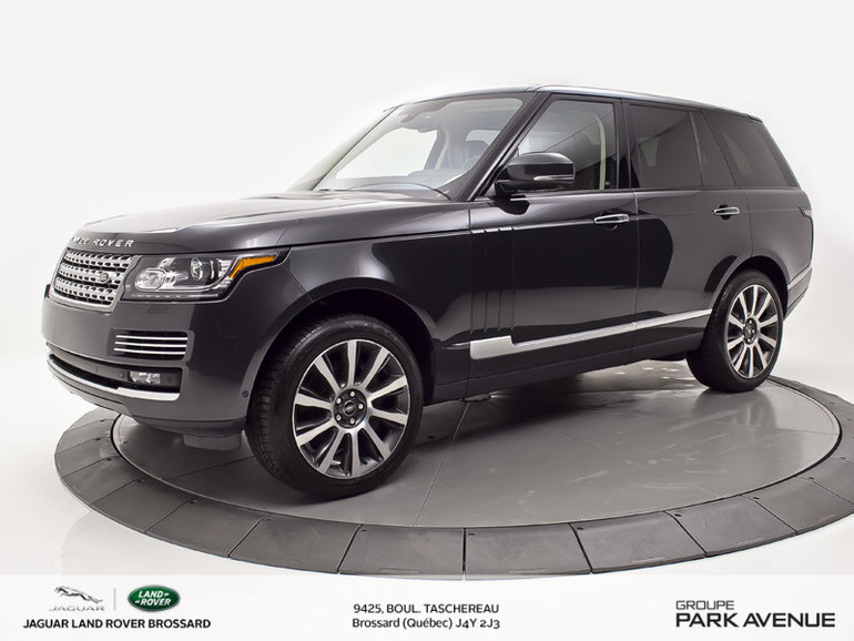 2015 Land Rover Range Rover 5.0L V8 Supercharged Autobiography
