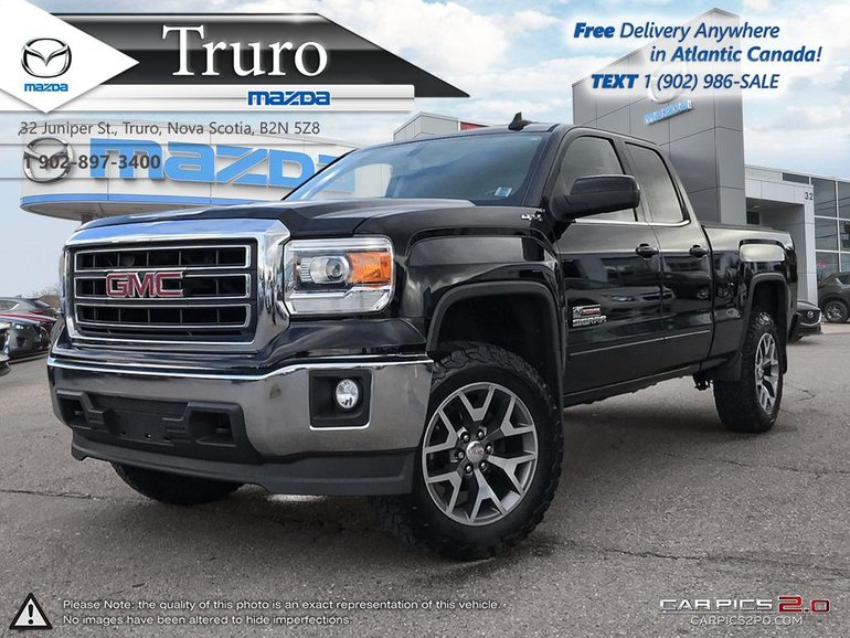 2015 GMC Sierra 1500 LEATHER! 3.5'' LIFT! ALL TERRAIN TIRES AND RIMS!