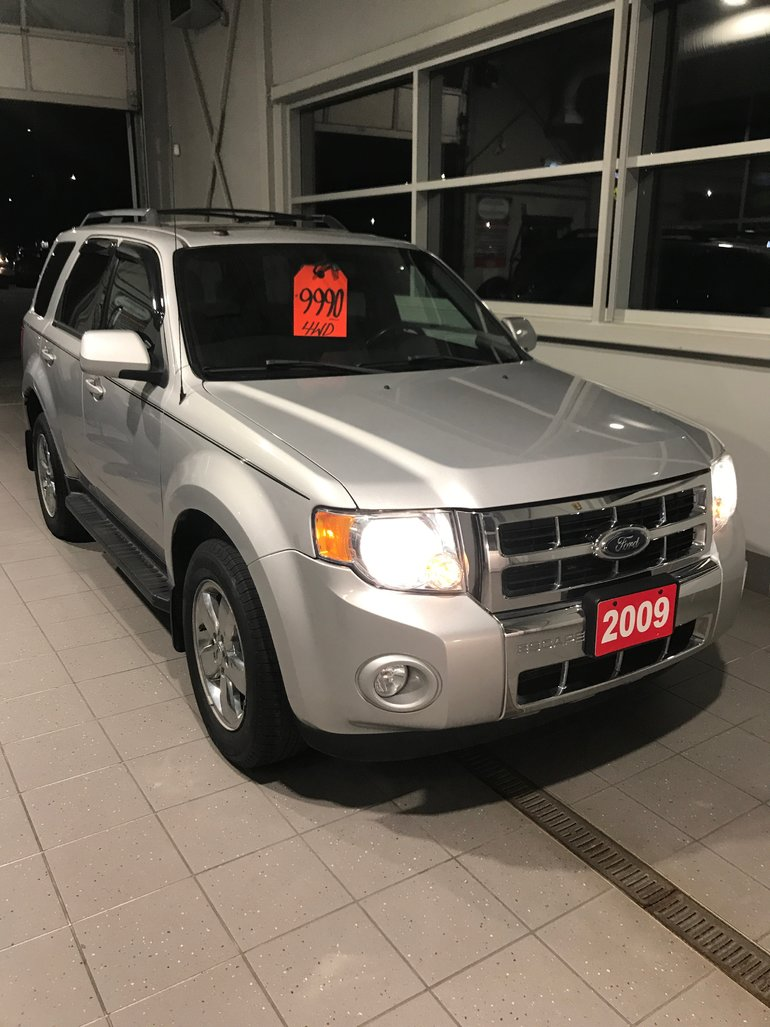 2009 Ford Escape Limited 4D Utility 4WD