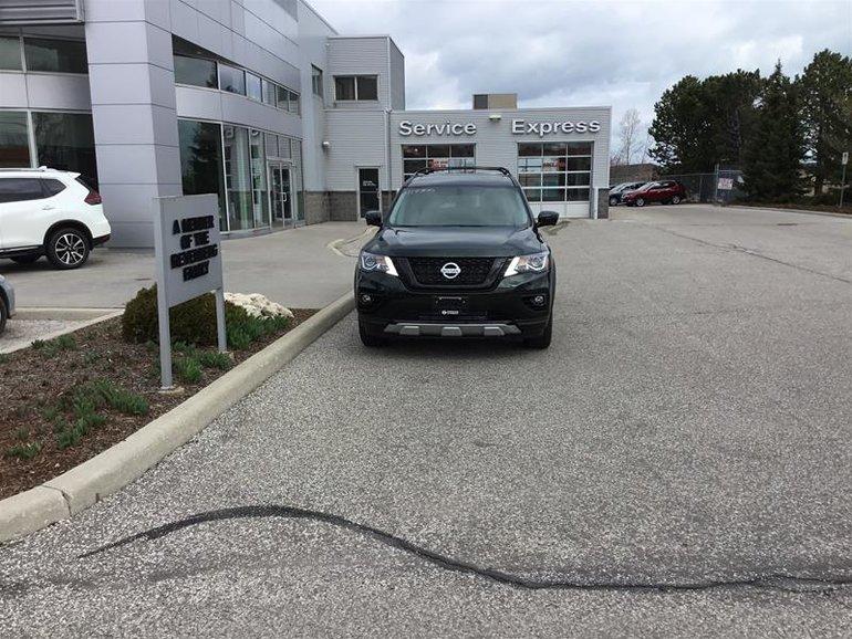 2019 Nissan Pathfinder SL Premium V6 4x4 at