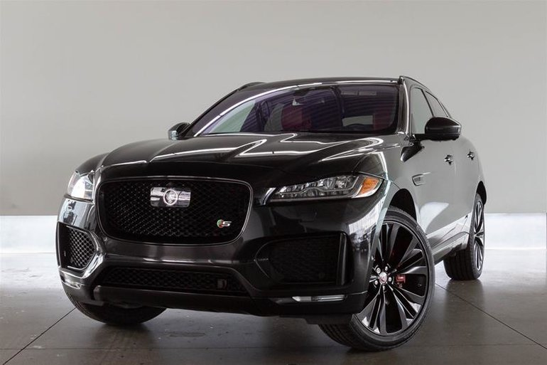 Pre-Owned 2017 Jaguar F-PACE S AWD - $42995.0 | Land Rover ...