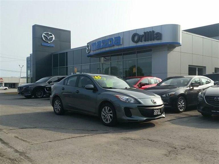 2012 Mazda Mazda3 SUNROOF-HEATED SEATS-SKYACTIV