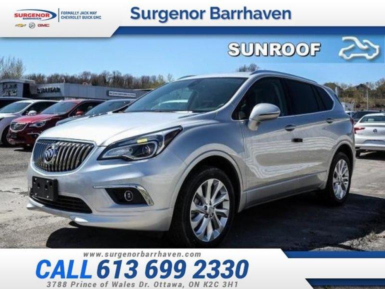 Buick ENVISION Premium  - Sunroof - $324.84 B/W 2018