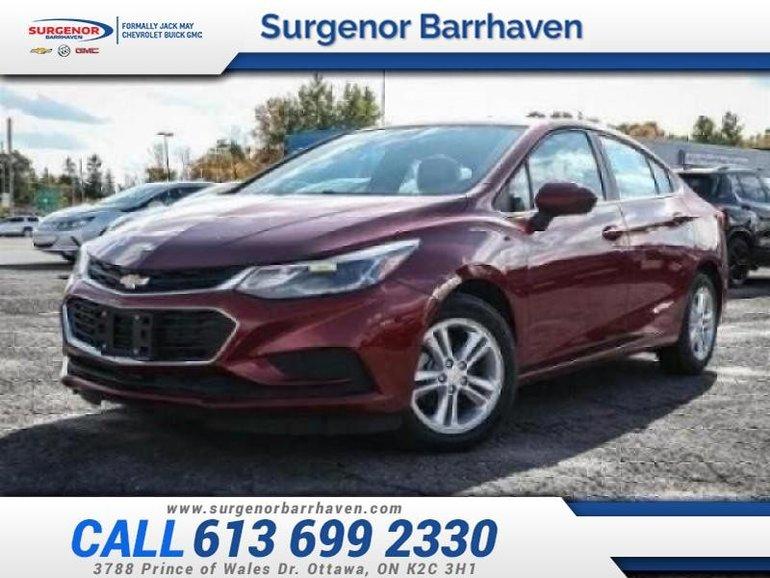 2018 Chevrolet Cruze LT  - $165.42 B/W