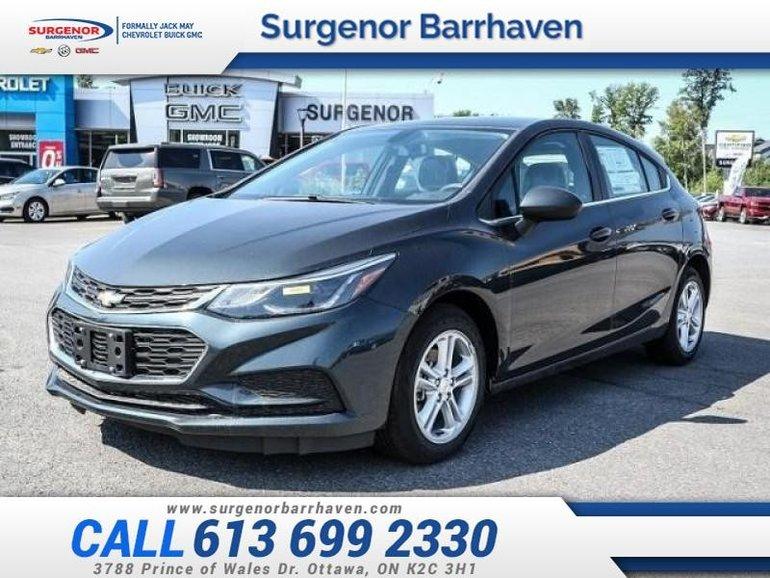 Chevrolet Cruze LT  - $151.75 B/W 2018