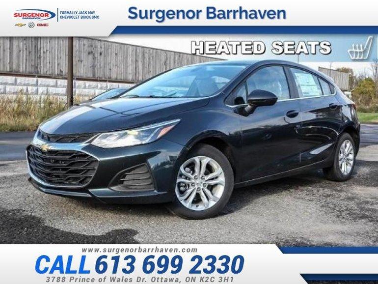 Chevrolet Cruze LT  - Heated Seats -  Bluetooth - $149.38 B/W 2019