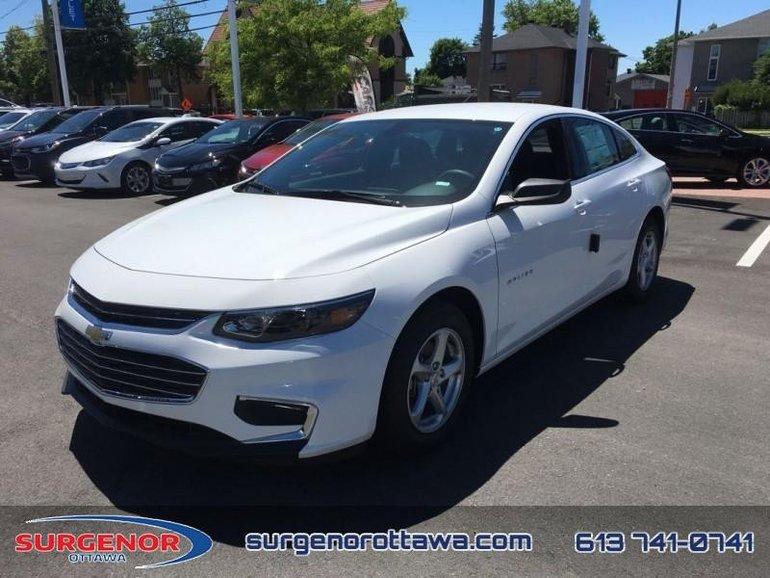 Chevrolet Malibu LS  - Bluetooth -  OnStar - $150.66 B/W 2018