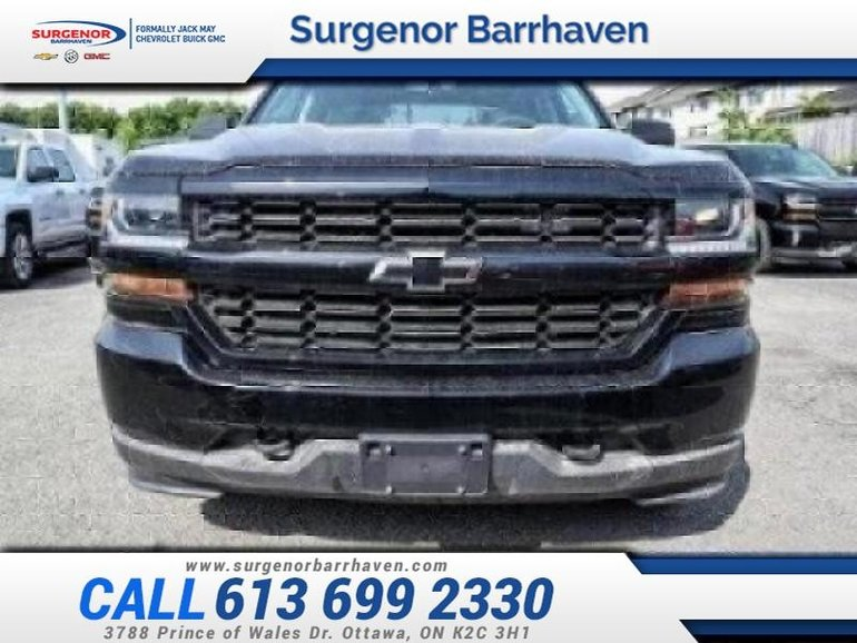 2018 Chevrolet Silverado 1500 Custom  - Rally 1 Edition - $405.62 B/W