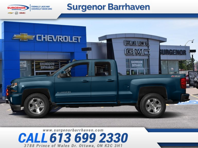 Chevrolet Silverado 1500 LT  - $291.56 B/W 2018