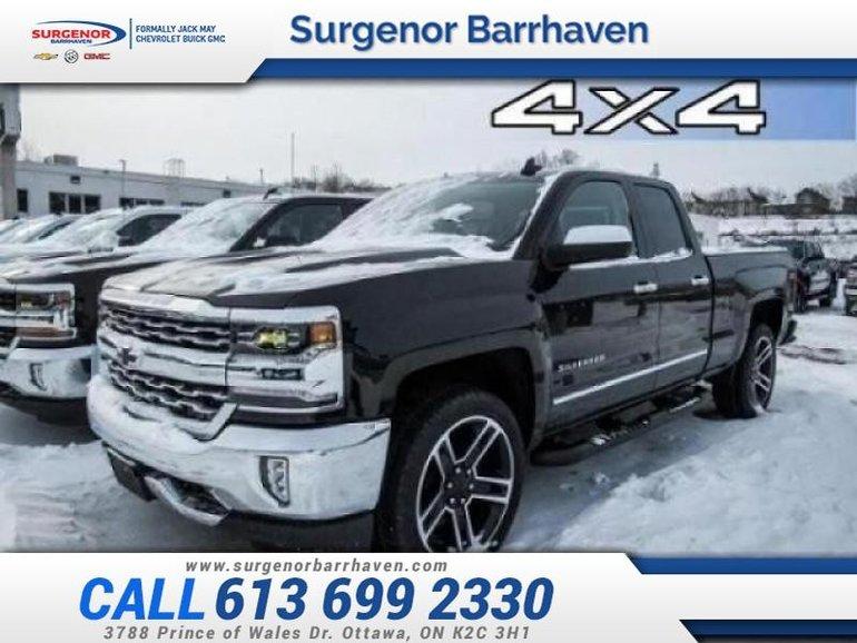 Chevrolet Silverado 1500 LTZ  - Black Package - $301.14 B/W 2018