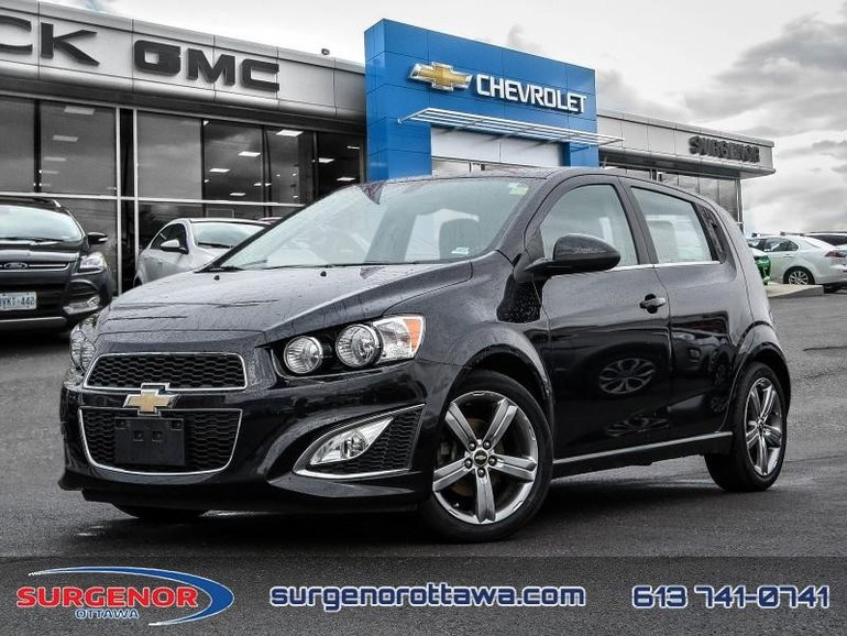 Used 2014 Chevrolet Sonic Rs 5 Dr Hatchback At 10697 Bw For