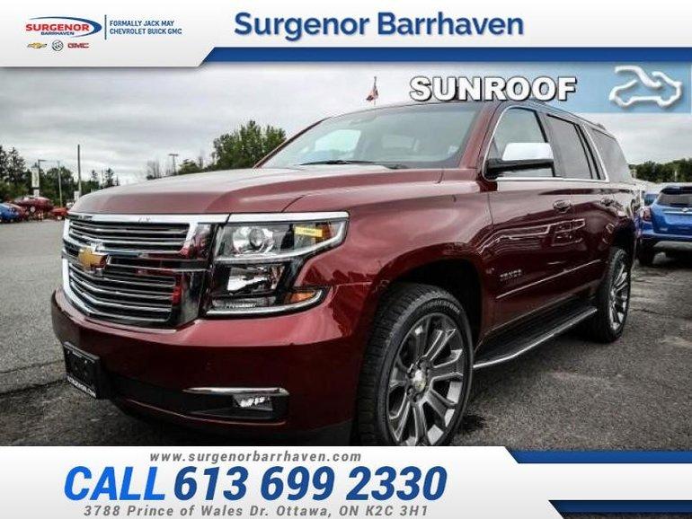 Chevrolet Tahoe Premier  - Sunroof 2018