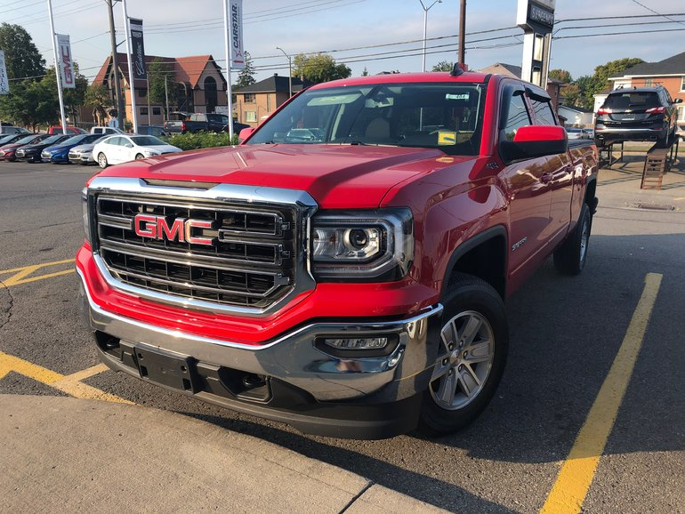 GMC Sierra 1500 SLE  - $327.62 B/W 2018