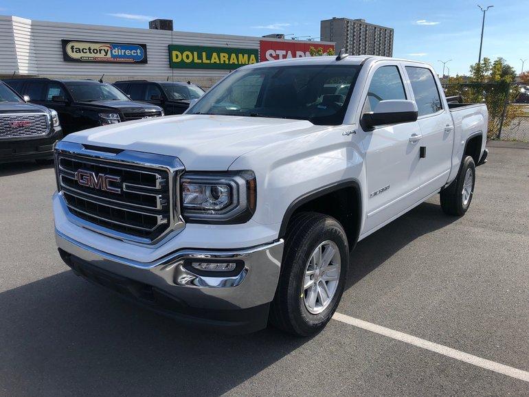 2018 GMC Sierra 1500 SLE  - $322.57 B/W