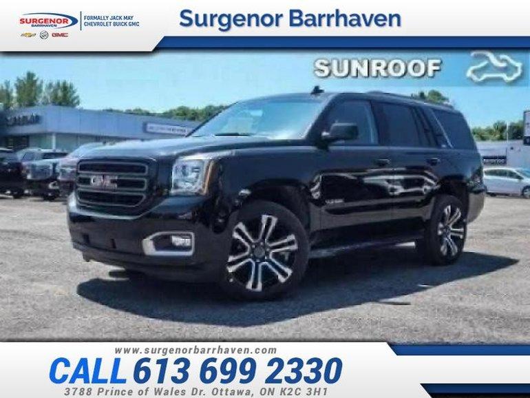 GMC Yukon SLT  - Sunroof - $493 B/W 2019