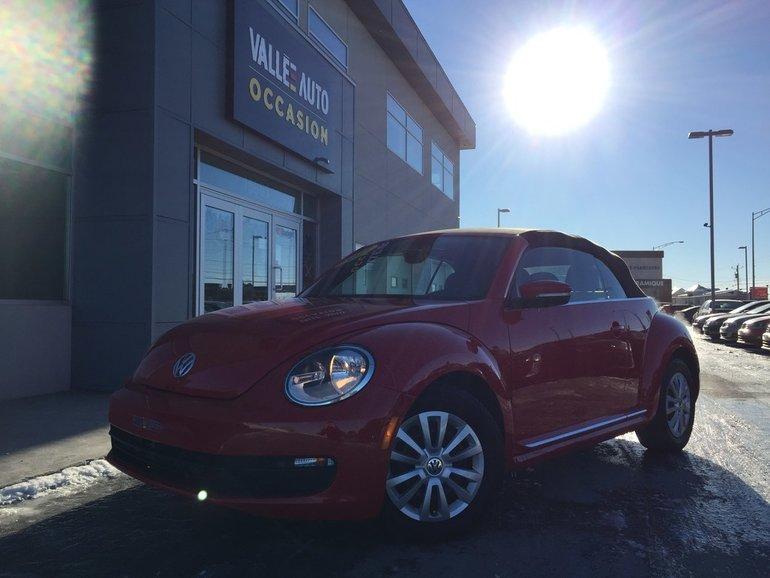 Volkswagen Beetle 1.8TSI TL+**BLUETOOTH,CUIR,TRÈS PROPRE** 2015