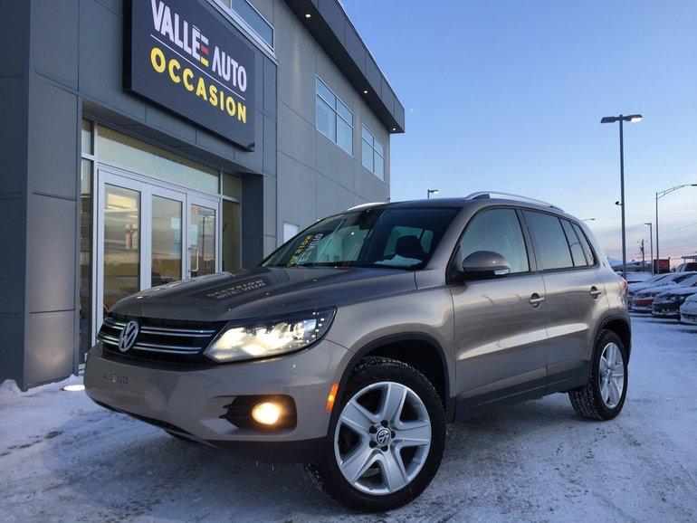 Volkswagen Tiguan CL AWD**CAMÉRA RECUL,BLUETOOTH,SIMILICUIR,ETC** 2015